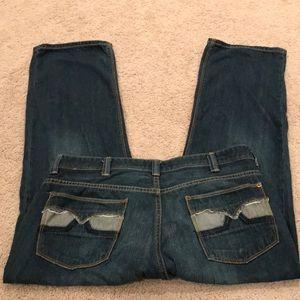 DKNY Donna Karan Broadway Jeans 36x30 C8